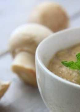 Сырно-сметанно-грибной соус в мультиварке