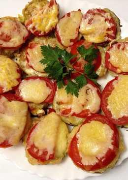🌺 Кабачки с колбасой и сыром 🌺