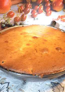 Пирог со смородиной! Очень вкусный ягодный пирог с черной смородиной