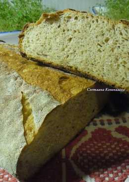 Хлеб на молодой ржаной закваске#кулинарныймарафон