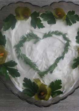 Закусочный пирог из крекера