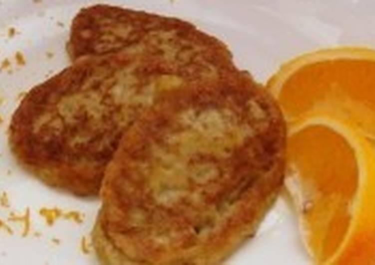 Апельсиново-овсяные оладьи на завтрак