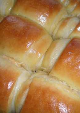 Булочки-рулеты с сырно-чесночной начинкой