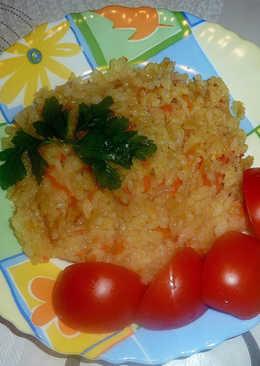 УНИВЕРСАЛЬНЫЙ рис. Оооочень вкусное постное блюдо
