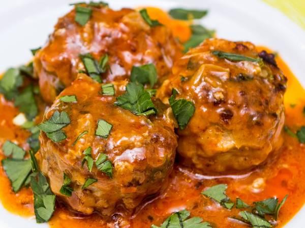 Идеальные Тефтели в сливочно-томатном соусе!