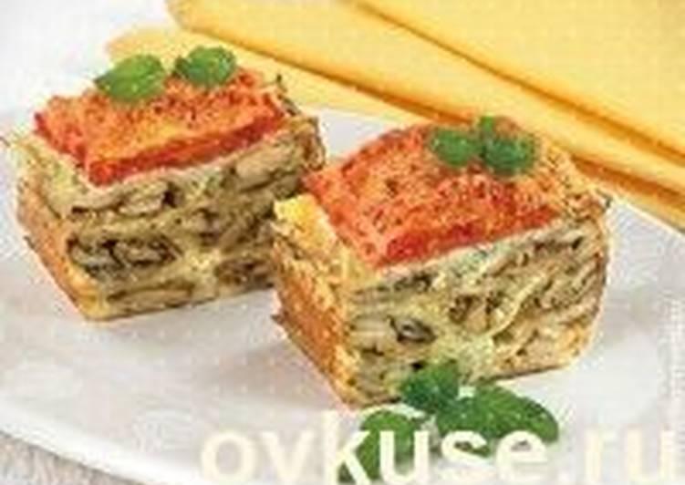 Запеканка из цветной капусты с сосисками
