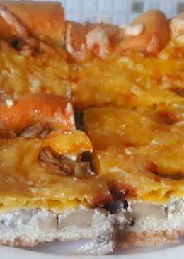 Очень Вкусная Грибная Пицца без Майонеза I Delicious Mushroom Pizza