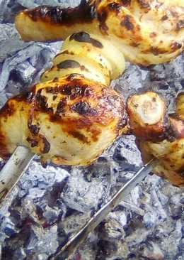 Шашлык из куриных ножек в кефирном маринаде #кулинарныймарафон#