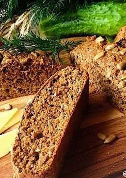 Диетический хлеб из гречневых отрубей