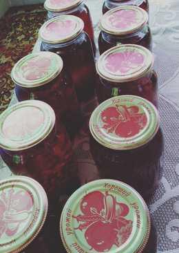 Смородиновый сок на зиму #заготовки на зиму