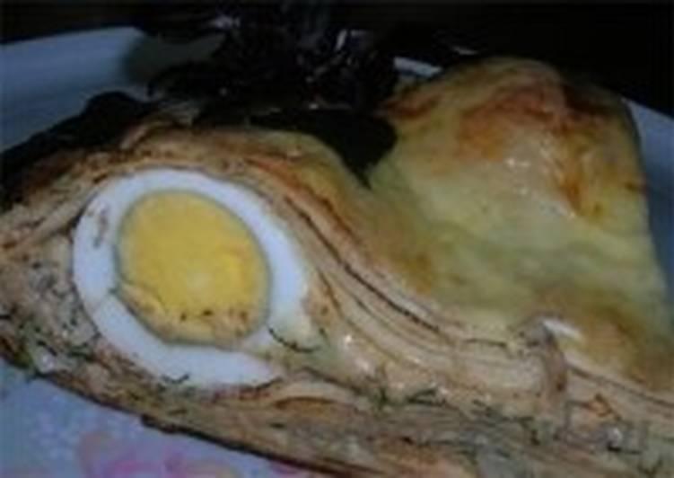 Закуска новогодняя «Глаза дракона»