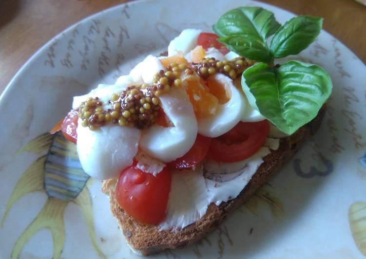 Лёгкий тост на завтрак