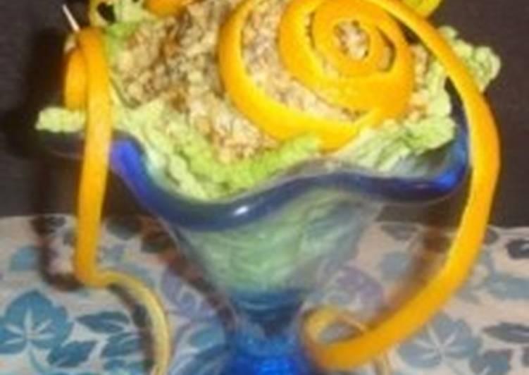 Новогодний салат «Серпантин»