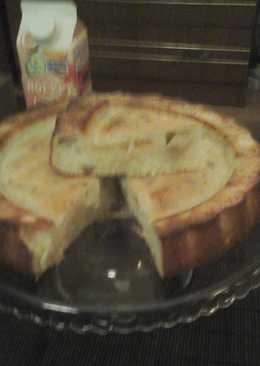 Пирог с тропическими фруктами