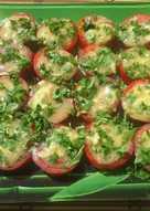 Холодная закуска из помидор