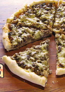 ПИЦЦА. Тонкое, хрустящее и очень вкусное тесто для пиццы
