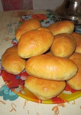 Пирожки постные на картофельном отваре