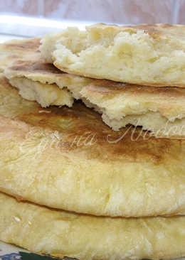 Лепешки «Без мороки» на сухой сковороде, идеально вместо хлеба