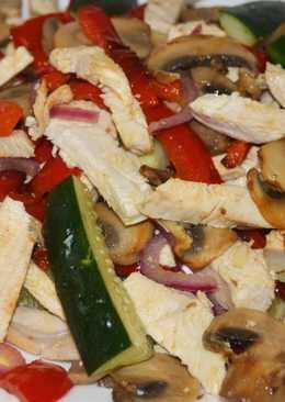 Потрясающе Вкусный салат без майонеза к 8 марта и не только!