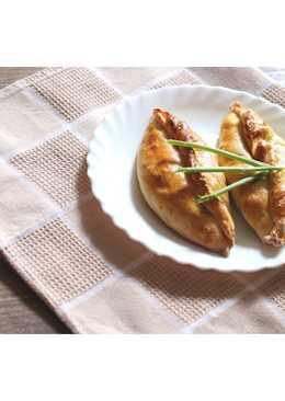 Пирожки с яйцом и луком #Кулинарныймарафон