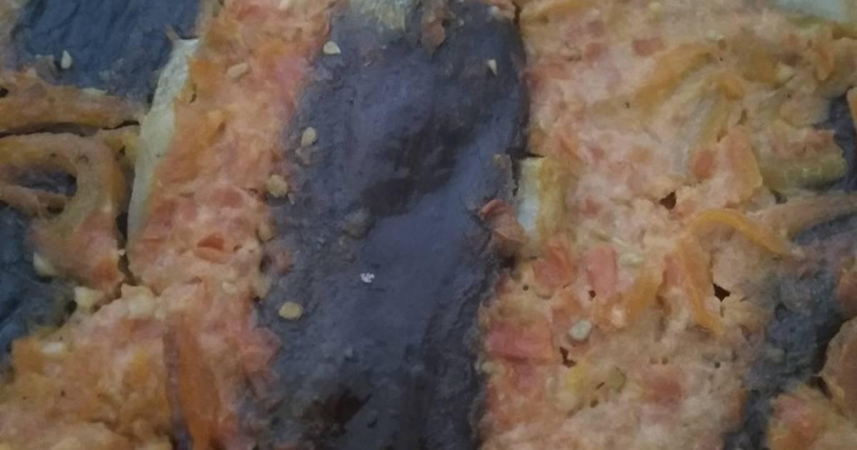 Как приготовить Баклажаны с острым чесночным соусом