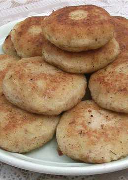 Картофельные котлеты со шпротами