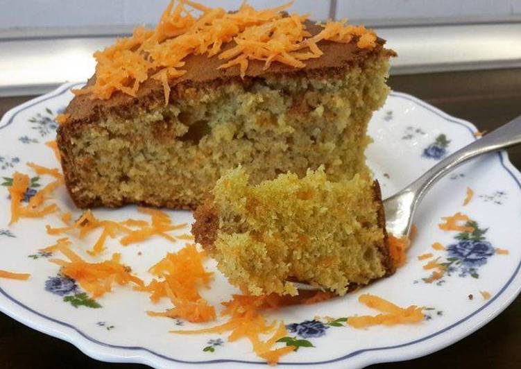 Миндально - морковный пирог