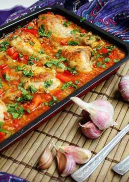 Чахохбили с курицей (грузинская кухня)