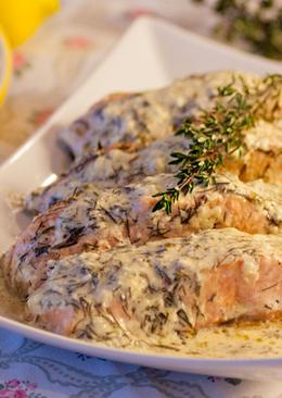 Стейки рыбы в духовке, рецепт с фото