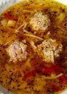 Суп с фрикадельками #пп