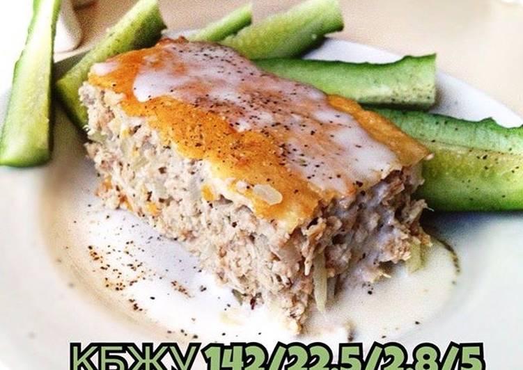 Белковое суфле из курицы и сои