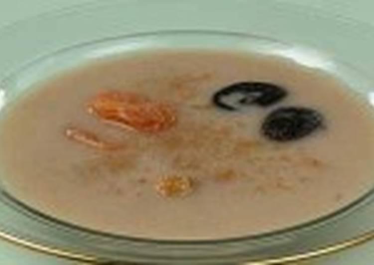 Постный холодный суп «Яблочный»