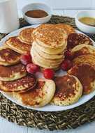 Оладьи с мягким творогом - любимое блюдо моих детей на завтрак