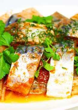 Рыба маринованная в томате
