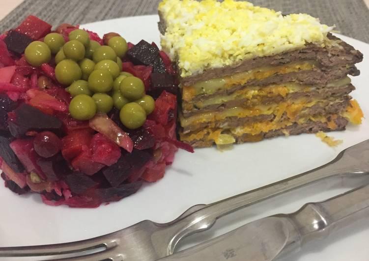 нежный печёночный торт рецепт