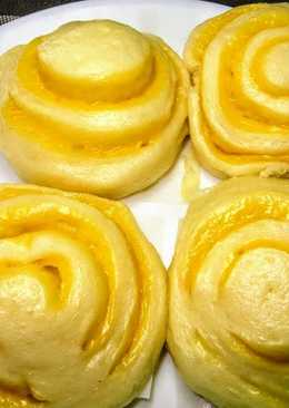 Китайские паровые булочки с сыром