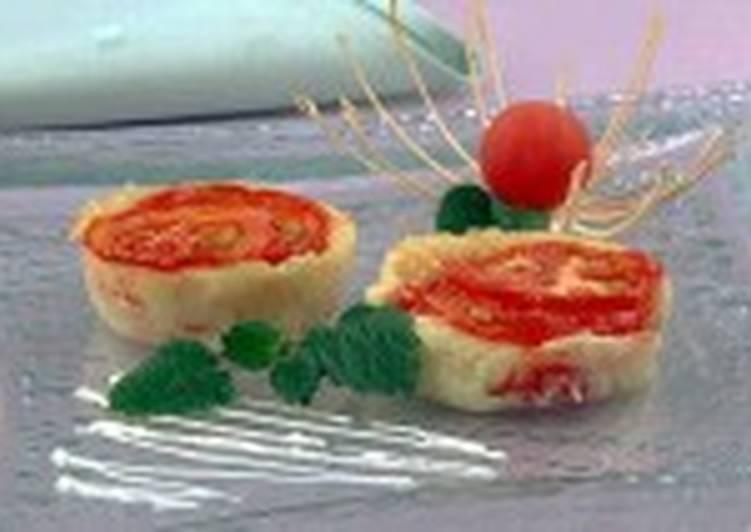 Запеканка с помидорами