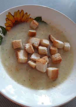 Быстро сырный суп