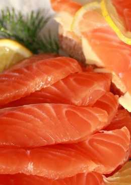 Соленая красная рыба - рецепт