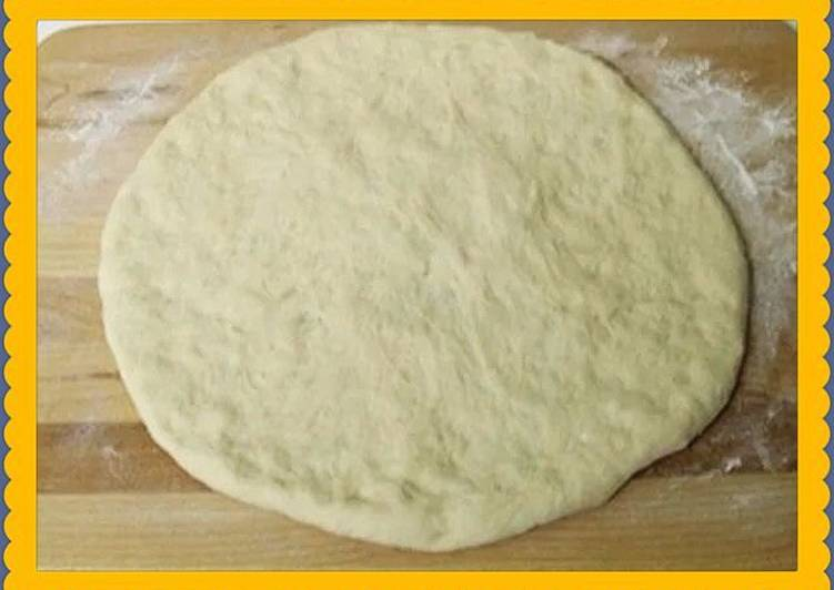 Творожное тесто для пиццы вкусное