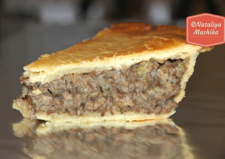 Мясной пирог Tortiere. Канадская кухня