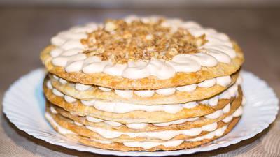 Торт Наполеон Крем - Брюле