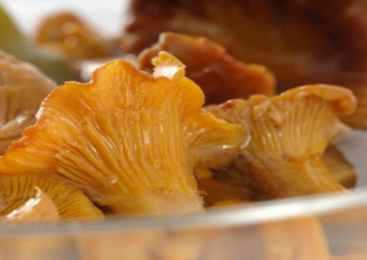 Соленые лисички рецепт