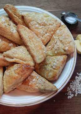 Сырные сконы или английские булочки к чаю