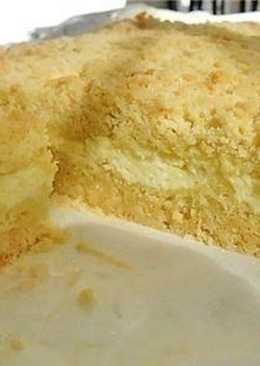Торт творожный песочное тесто