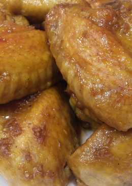 Очень Вкусные Крылья в медово-соевом соусе. Обалденный маринад для курицы (бедер, крыльев, голени)
