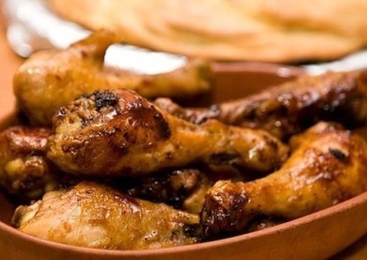 Куриные голени в медово-хмельном соусе