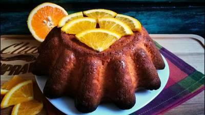 Самый апельсиновый пирог в мире