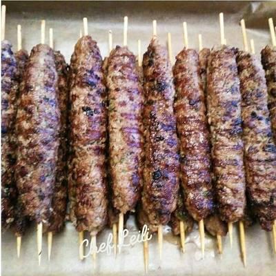 Люля-кебаб из баранины и тонкий лаваш от шефа Эндрю