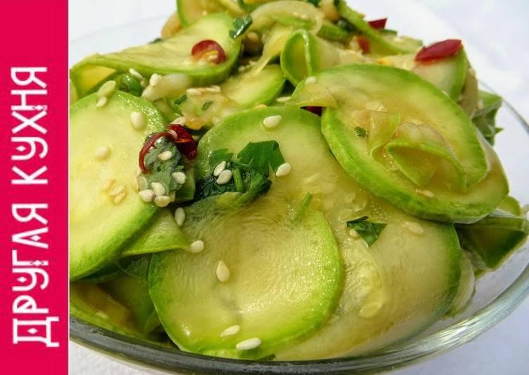 Китайцы знают толк! Идеальная закуска из кабачков в азиатском стиле! Украсит любое застолье!